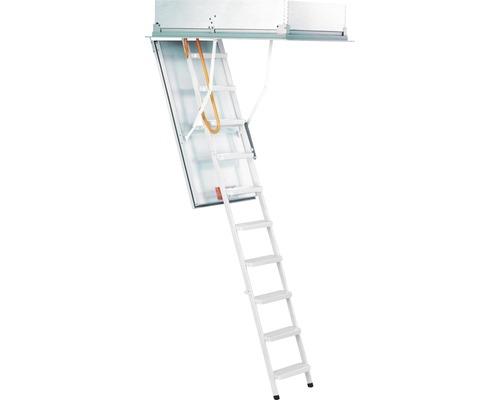 Escalier escamotable de type 12 Solid résistant au feu 120x70cm