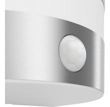 Applique LED pour mur extérieur avec détecteur de mouvement 1x3,5W acier inoxydable/blanc-thumb-2