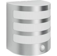 Applique LED pour mur extérieur avec détecteur de mouvement 1x3,5W acier inoxydable/blanc-thumb-0