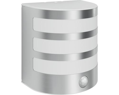 Applique LED pour mur extérieur avec détecteur de mouvement 1x3,5W acier inoxydable/blanc