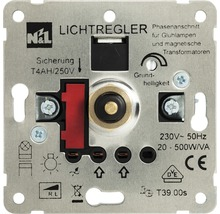 Insert de variateur poussoir ROTH LANGE 500 watts-thumb-0