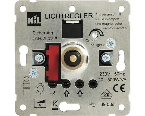 Insert de variateur poussoir ROTH LANGE 500 watts-0