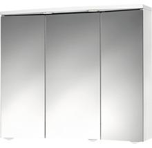 Armoire de toilette Trava LED blanc-thumb-0