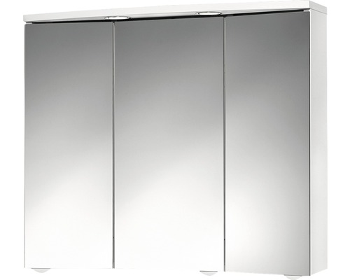 Armoire de toilette Trava LED blanc-0