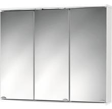 Armoire de toilette Modena LED blanc-thumb-0