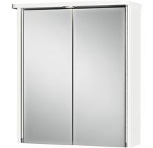 Armoire de toilette Tamrus LED blanc-thumb-0
