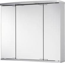 Armoire de toilette Doro LED coloris aluminium-thumb-0