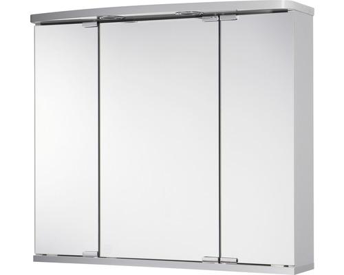 Armoire de toilette Doro LED coloris aluminium-0
