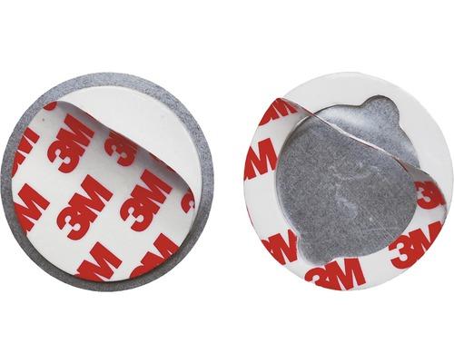 Fixation magnétique pour mini détecteur de fumée