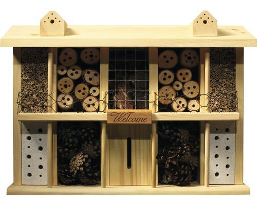 Hôtel à insectes Landsitz Superior pin 47 x 12,5 x 34 cm-0