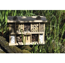 Hôtel à insectes Landsitz Superior chêne 47 x 12,5 x 34 cm-thumb-2