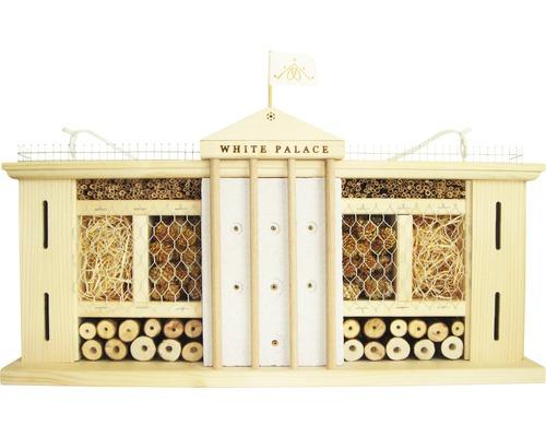Hôtel à insectes Palais blanc 58 x 12 x 30 cm-0