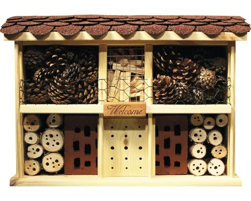 Hôtel à insectes Landhaus Komfort 47 x 12,5 x 34 cm