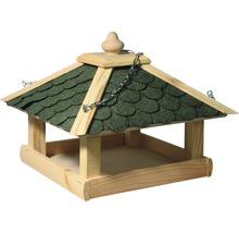 Abri-mangeoire pour oiseaux avec bardeaux bitumés-thumb-1