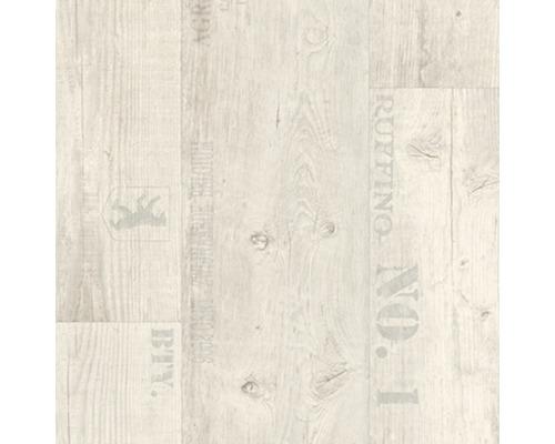 PVC Yell Planke weiß 300 cm breit (Meterware)