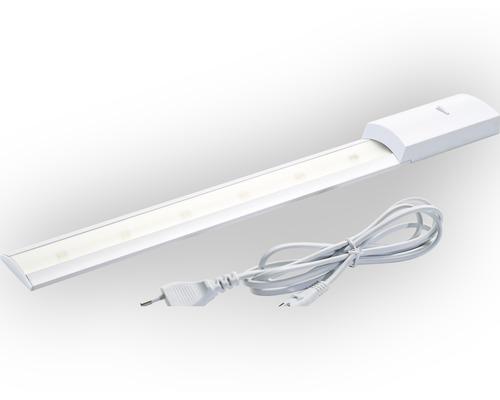 Éclairage sous-meuble à LED Naxos 60 blanc avec ampoule de L 599 mm