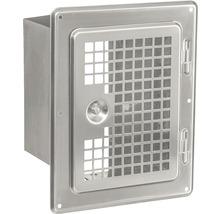 Porte de nettoyage pour EW 14x20 cm comme grille de ventilation avec embouts coulissants-thumb-0