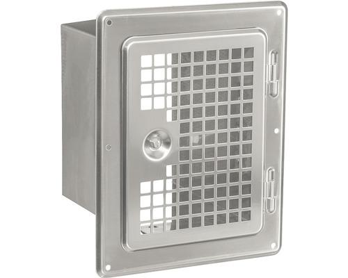 Porte de nettoyage pour EW 14x20 cm comme grille de ventilation avec embouts coulissants-0