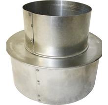 Augmentateur pour conduit de poêle Ø 80-130 mm aluminié à chaud-thumb-0