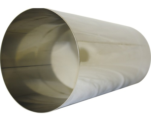 Conduit de poêle Ø 130 mm inox 0.50 m