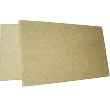 Plaque pour chambre de combustion en vermiculite 600 500x300x30 mm-thumb-0