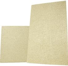 Plaque pour chambre de combustion en vermiculite 600 500x300x30 mm-thumb-2