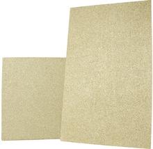 Plaque pour chambre de combustion en vermiculite 600 500x300x30 mm-thumb-1