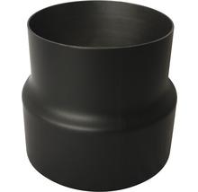 Réducteur de conduit de poêle Ø 180-150 mm 2 mm senotherm vernis noir-thumb-0