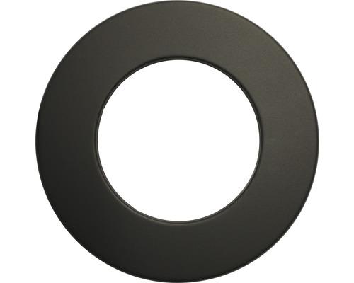 Pellet-Rosette Ø80 mm schwarz