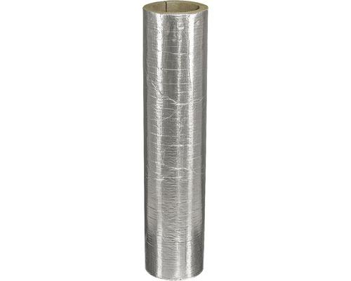 Rohr-Dämmschale EW für Rauchrohr 120 alukaschiert