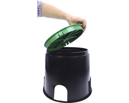 Boîtier à encastrer dans le sol 168/200mm