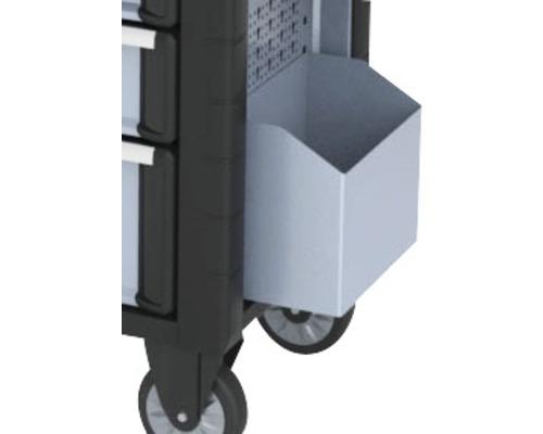 Boîte de rangement et poubelle