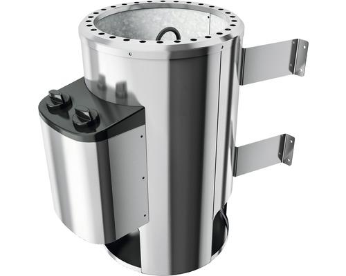 Poêle de sauna 3,6 kW vec commande intégrée