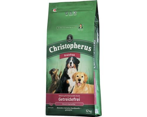Nourriture sèche pour chiens, Allco Christopherus sans céréales, cerf & pomme de terre 12 kg-0
