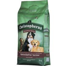 Nourriture sèche pour chiens, Allco Christopherus sans céréales Senior canard & pomme de terre 4kg-thumb-0