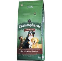 Nourriture sèche pour chiens, Allco Christopherus sans céréales Senior canard & pomme de terre 12kg-thumb-0