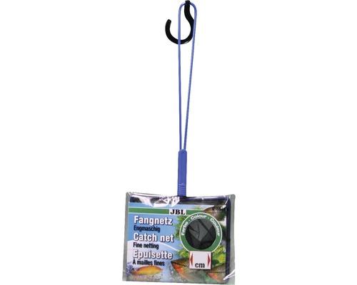 Épuisette pour aquarium JBL Fangnetz Premium noire maillage fin 10cm