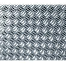 Film adhésif effet tôle gaufrée argent métallisé 150x67.5 cm-thumb-0