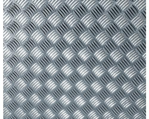 Film adhésif effet tôle gaufrée argent métallisé 150x67.5 cm-0
