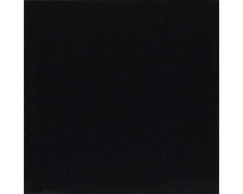 Carrelage en PVC Design noir autocollant 30.5x30.5 cm lot de 11
