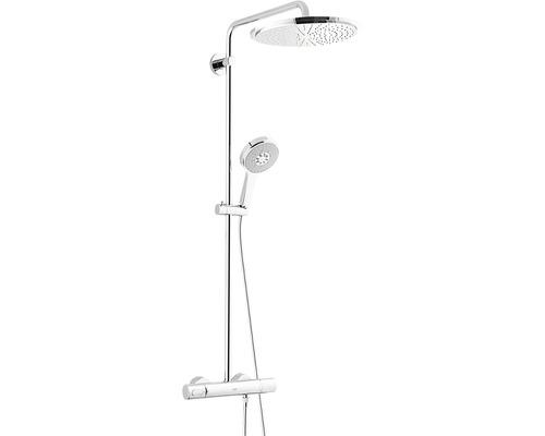 Duschsystem GROHE Rainshower System 310 27968000 chrom mit Thermostat