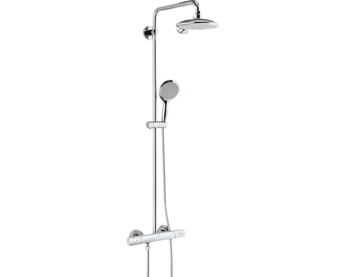 Duschsystem GROHE Euphoria Power&Soul System 190 26186000 chrom mit Thermostat
