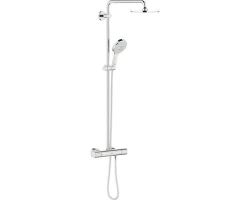 Duschsystem GROHE Rainshower System 210 27967000 chrom mit Thermostat