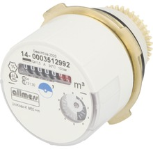 Compteur d''eau de rechange Allmess adaptateur Unikoax M65-eau froide-thumb-0