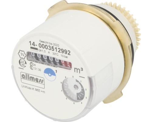 Compteur d''eau de rechange Allmess adaptateur Unikoax M65-eau froide-0
