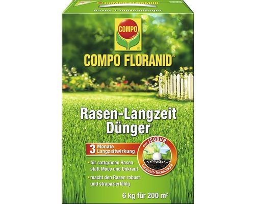 Engrais longue durée pour gazon Compo, 6kg