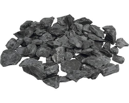 Gravillons Canadian Slate 30-60 mm 250 kg anthracite