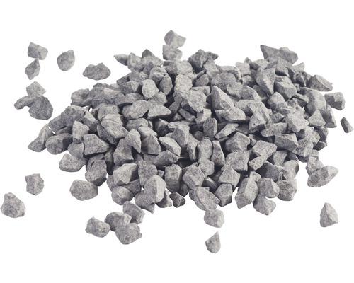 Graviers de basalte 8-12 mm 250 kg, gris-0