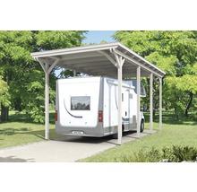 Carport pour un véhicule Skanholz Emsland 404 x 846 cm, blanc-thumb-8