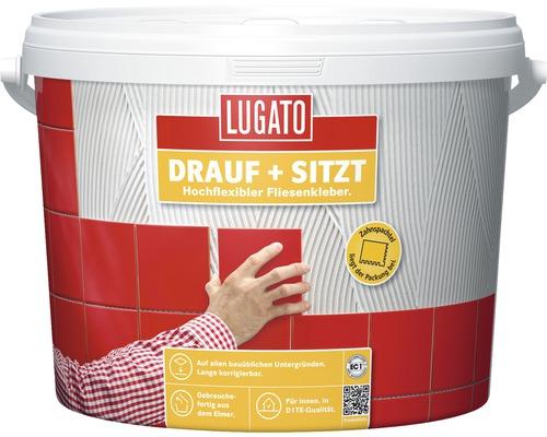 Fliesenkleber Lugato Drauf + Sitzt 4 kg